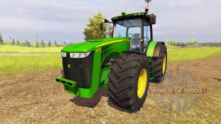 John Deere 8310R v1.6 для Farming Simulator 2013