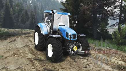 New Holland T6.160 FL [25.12.15] для Spin Tires