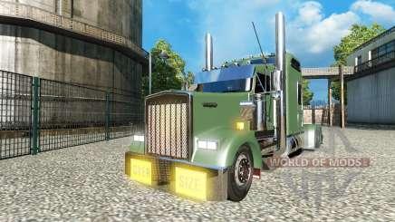 Kenworth W900L v1.5 для Euro Truck Simulator 2