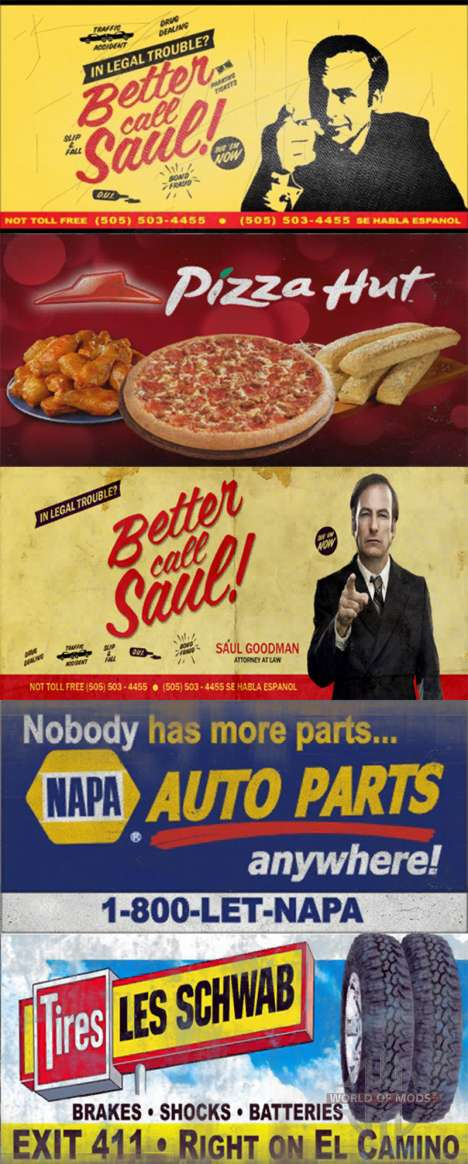 Реальные торговые марки на билборды для American Truck Simulator