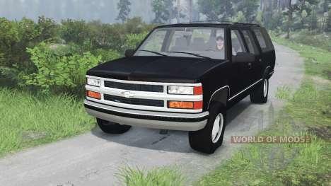 Chevrolet Suburban GMT400 [03.03.16] для Spin Tires