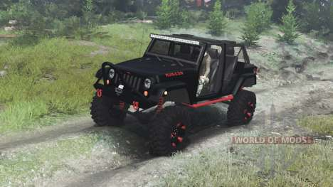 Jeep Wrangler Rubicon [03.03.16] для Spin Tires