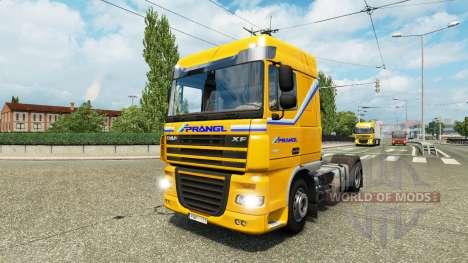 Раскраски на грузовой трафик v1.1 для Euro Truck Simulator 2