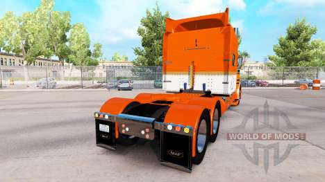 Скин Tri-State Commodities на Peterbilt 389 для American Truck Simulator