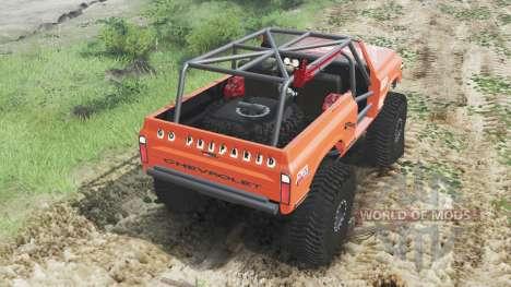 Chevrolet K5 Blazer 1972 [crawler] для Spin Tires