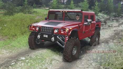 Hummer H1 [03.03.16] для Spin Tires