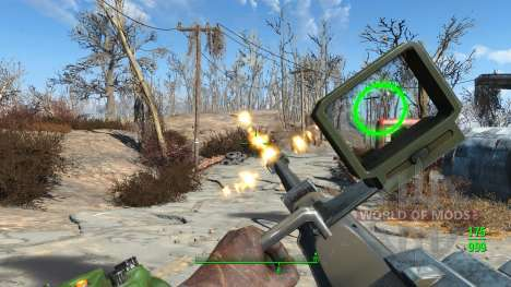 WH-Mk22 Heavy Machinegun для Fallout 4