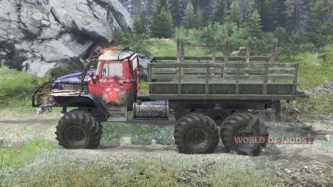 Урал-375 Триал [03.03.16] для Spin Tires