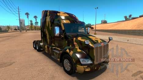 Скин Камуфляж для Peterbilt 579 для American Truck Simulator