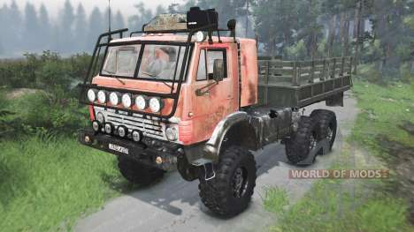 КамАЗ-4310 СССР [03.03.16] для Spin Tires