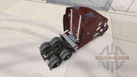 Скин Tim Hortons на тягачи Peterbilt и Kenworth для American Truck Simulator