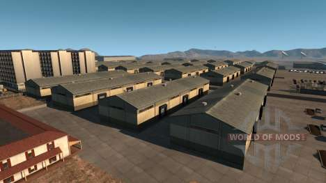 Карта Зоны 51 для American Truck Simulator