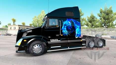 Volvo VNL 670 v1.1 для American Truck Simulator