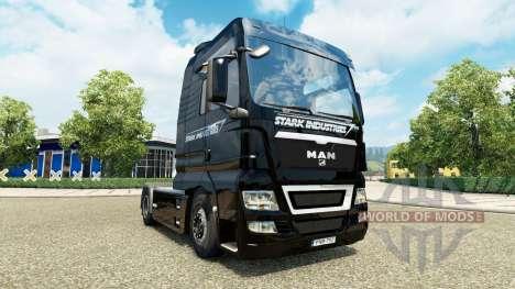 Скин Stark Expo 2010 на тягач MAN для Euro Truck Simulator 2