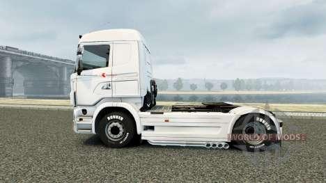 Скин Klaus Bosselmann на тягач Scania для Euro Truck Simulator 2
