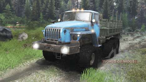Урал-4320 СССР [03.03.16] для Spin Tires