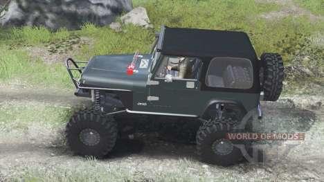 Jeep YJ 1987 [03.03.16] для Spin Tires