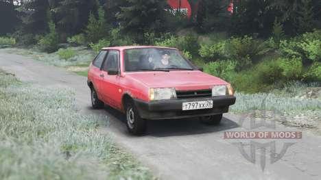 ВАЗ-2108 2109 21099 [03.03.16] для Spin Tires