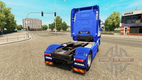 Скин F. MURPF AG на тягач Scania для Euro Truck Simulator 2