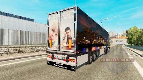 Полуприцеп Skyline для Euro Truck Simulator 2