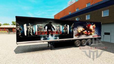 Полуприцеп Iron Man 3 для Euro Truck Simulator 2
