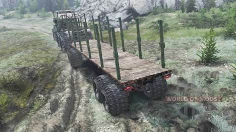 К-710 Кировец 6x6 [03.03.16] для Spin Tires