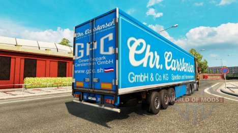 Полуприцеп Carstensen для Euro Truck Simulator 2
