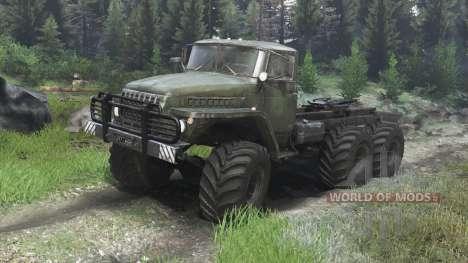Урал-4320 [03.03.16] для Spin Tires