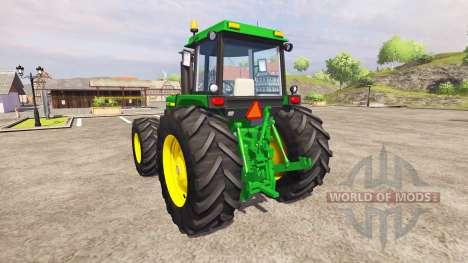 John Deere 4455 v2.3 для Farming Simulator 2013