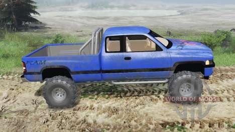 Dodge Ram Ext. Cab 1996 [03.03.16] для Spin Tires