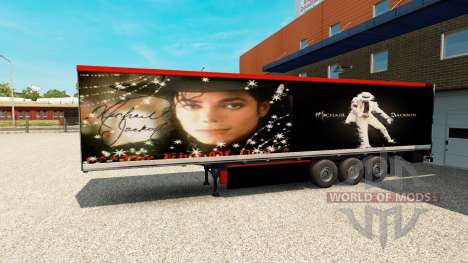 Полуприцеп Michael Jackson для Euro Truck Simulator 2