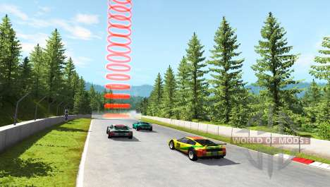 Hirochi Super Race v1.05 для BeamNG Drive