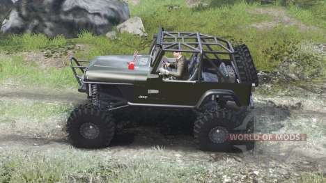 Jeep YJ 1987 [open top][03.03.16] для Spin Tires