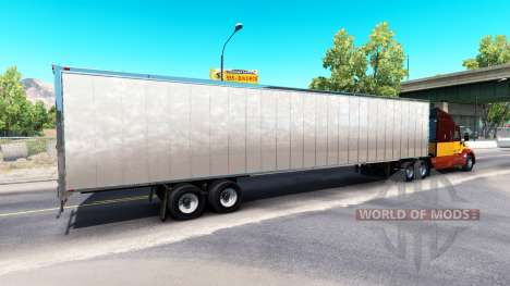 Скин Dirty Mud на полуприцеп для American Truck Simulator