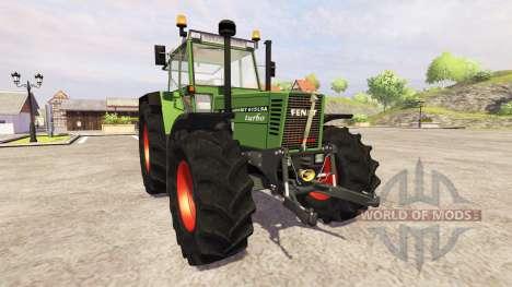 Fendt Favorit 615 LSA Turbomatic для Farming Simulator 2013
