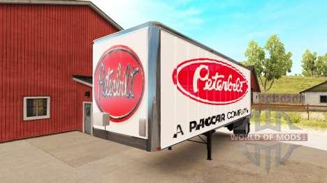 Скины Kenworth и Peterbilt на полуприцепы для American Truck Simulator