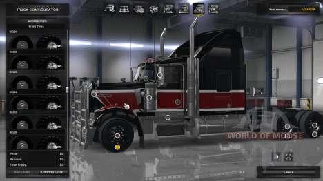 Внедорожные колёса для American Truck Simulator