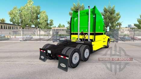 Скин John Deere на тягачи Peterbilt и Kenworth для American Truck Simulator