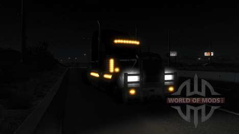 Реалистичное освещение (Real Headlights Mod) для American Truck Simulator