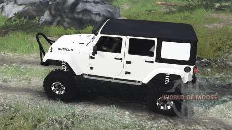 Jeep Wrangler Rubicon White [03.03.16] для Spin Tires