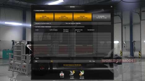 Новая экономика (Klaas Economy Mod - V1.1.11) для American Truck Simulator