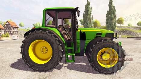John Deere 6630 v1.1 для Farming Simulator 2013