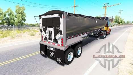 Полуприцеп-самосвал Mac Simizer для American Truck Simulator