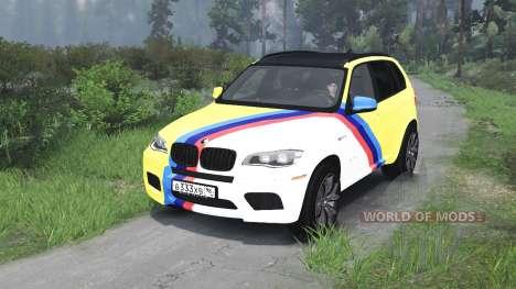 BMW X5 M [03.03.16] для Spin Tires