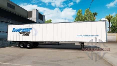 Скин Roadruner на полуприцеп для American Truck Simulator