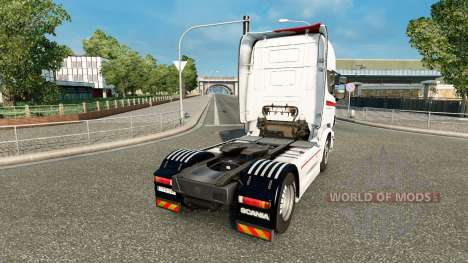 Скин Coppenrath & Wiese на тягач Scania для Euro Truck Simulator 2
