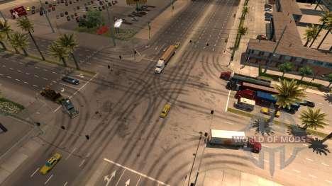 Больше грузовиков в трафике для American Truck Simulator