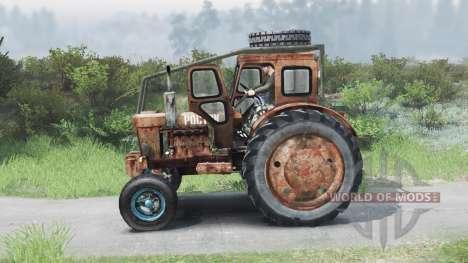 Т-40 [оранжевый][03.03.16] для Spin Tires
