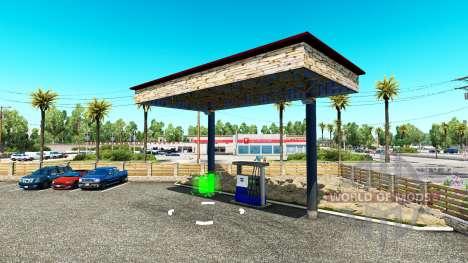 Гаражи T. L. Europa для American Truck Simulator