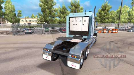 Mack Titan Super Liner для American Truck Simulator